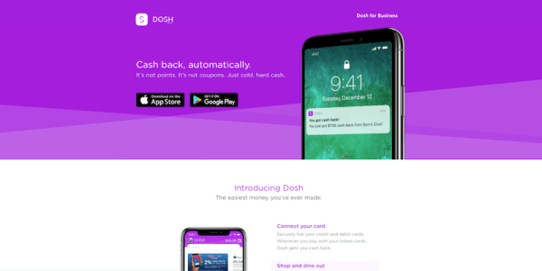 Dosh Sign Up