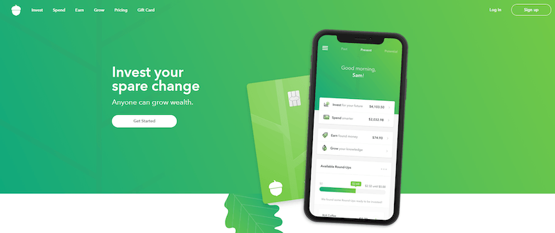 Acorns App Sign Up
