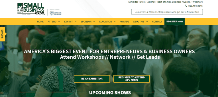 Legit online job Small Business Expo