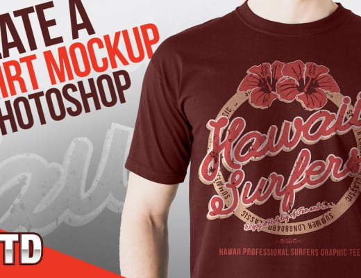Create a T-Shirt Mockup in Photoshop