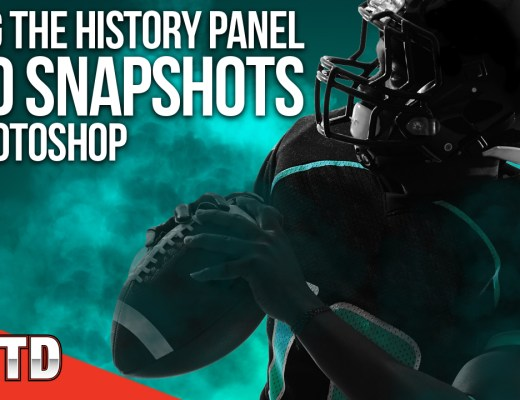 Using the History Panel and Snapshots in Photoshop