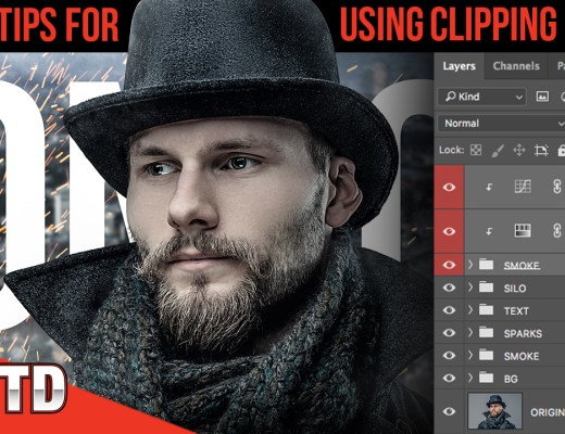 Learn how to use Clipping Masks and change the way you design with Photoshop.