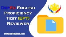 DepEd English Proficiency Test Reviewer EPT