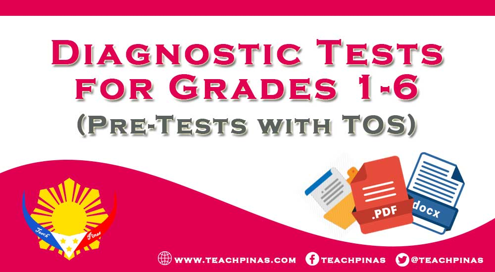 Diagnostic Tests for Grades 1-6 with TOS