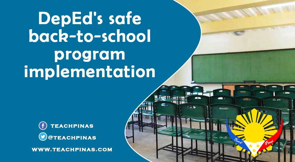 DepEd's safe back-to-school program implementation