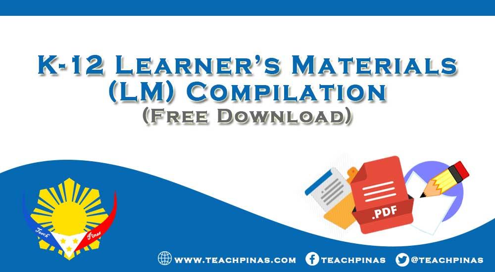 K-12 Learner's Materials