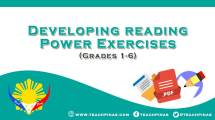 Developing Reading Power Exercises