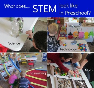 What does STEM look like in preschool and what is STEM anyway?
