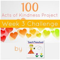 100 Acts of kindness | Share a heartprint