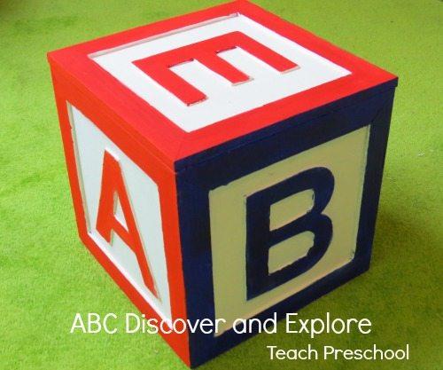 ABC discover and explore in preschool