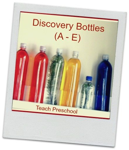 ABC's of Discovery Bottles (A – E)