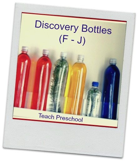 ABC's of Discovery Bottles (F – J)