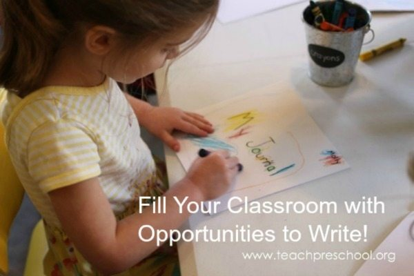 Fill your classroom with opportunities to write!