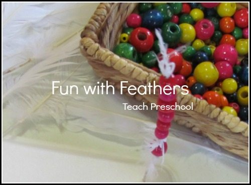 Fun with feathers and beads