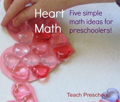 Heart math : Five simple math ideas for preschoolers