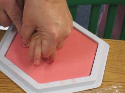 Hands off in preschool