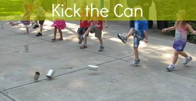 I can day: kick the can game