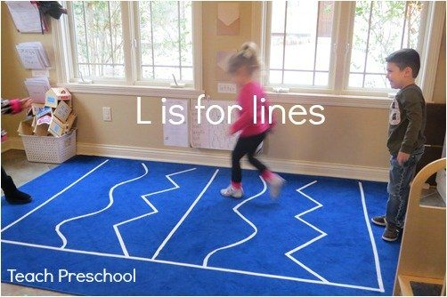 L is for lines