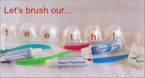 National dental health month: Let's brush our teeth!