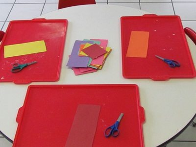 Using trays in the preschool classroom