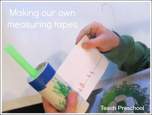 Making our own measuring tapes