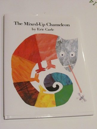Exploring mixed-up chameleons with Eric Carle