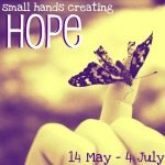 Small hands creating hope: sewing up hope