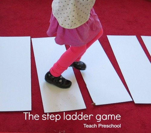 The step ladder game