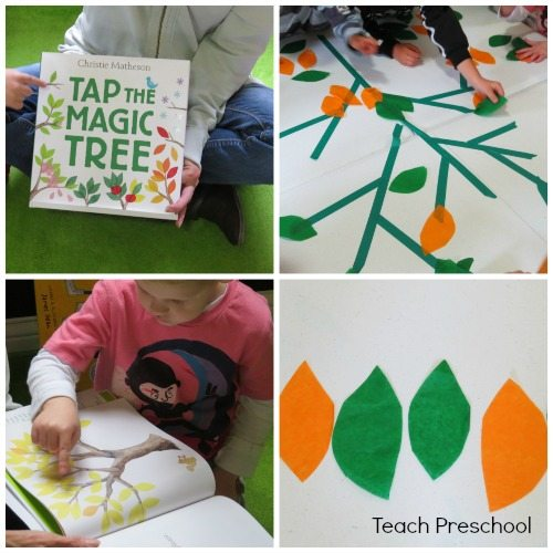 Tapping our own magic table top tree