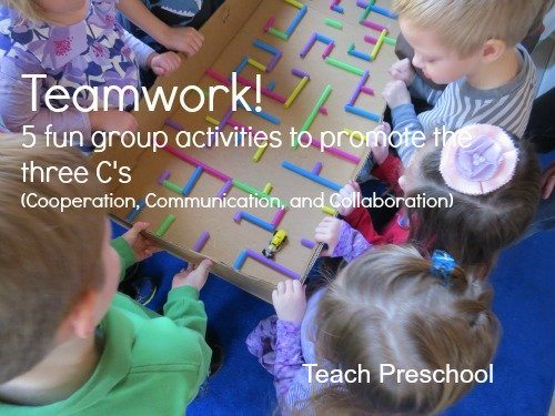 Five simple activities that promote teamwork!