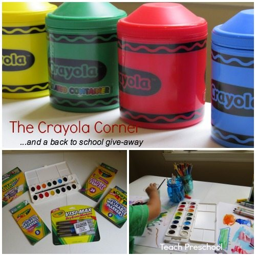 The Crayola Corner