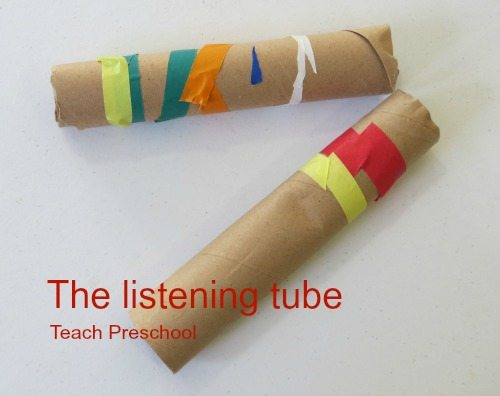 Let's listen with a listening tube