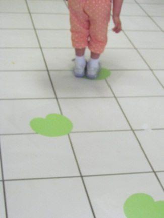 Try the frog leap in preschool