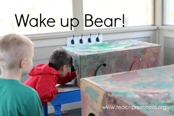 Wake up bear!