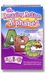 The Amazing Action Alphabet phonics program review and give-away
