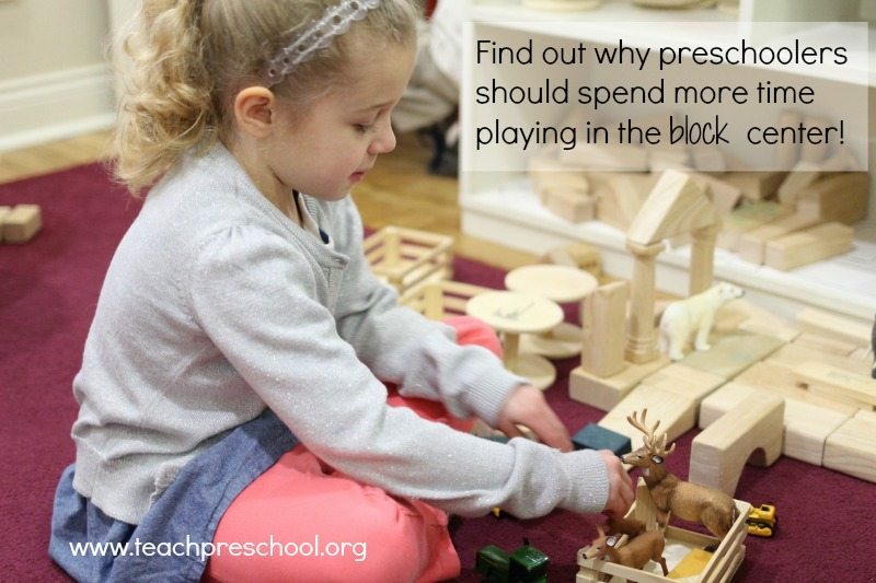 Why your preschoolers should play with blocks