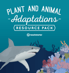 Plant and Animal Adaptations Teaching Resource Pack Teaching Resource Pack    Teach Starter [ 720 x 1200 Pixel ]