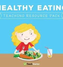 Healthy Eating Teaching Resource Pack Teaching Resource Pack   Teach Starter [ 720 x 1200 Pixel ]