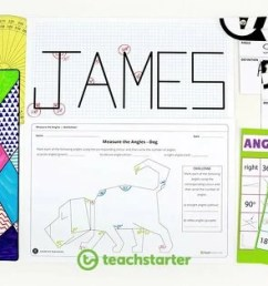 20 FUN Classroom Angles Activities and Teaching Resources   Teach Starter [ 800 x 1200 Pixel ]