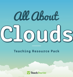 All About Clouds Teaching Resource Pack Teaching Resource Pack   Teach  Starter [ 720 x 1200 Pixel ]