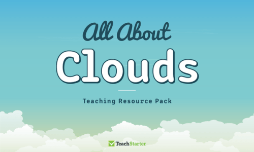 small resolution of All About Clouds Teaching Resource Pack Teaching Resource Pack   Teach  Starter