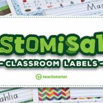 Our Most Popular Customisable Classroom Labels Signs Displays