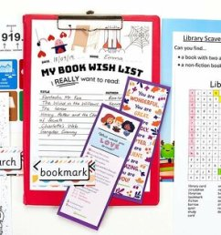 Library Activities for Kids   Make the Most of Library Time   Teach Starter [ 900 x 1200 Pixel ]
