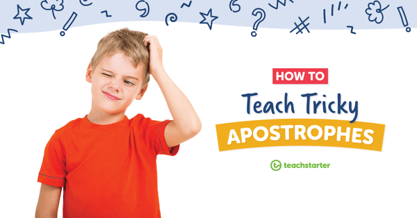 hight resolution of Apostrophe Activities and Resources Your Students Will Love!   Teach Starter