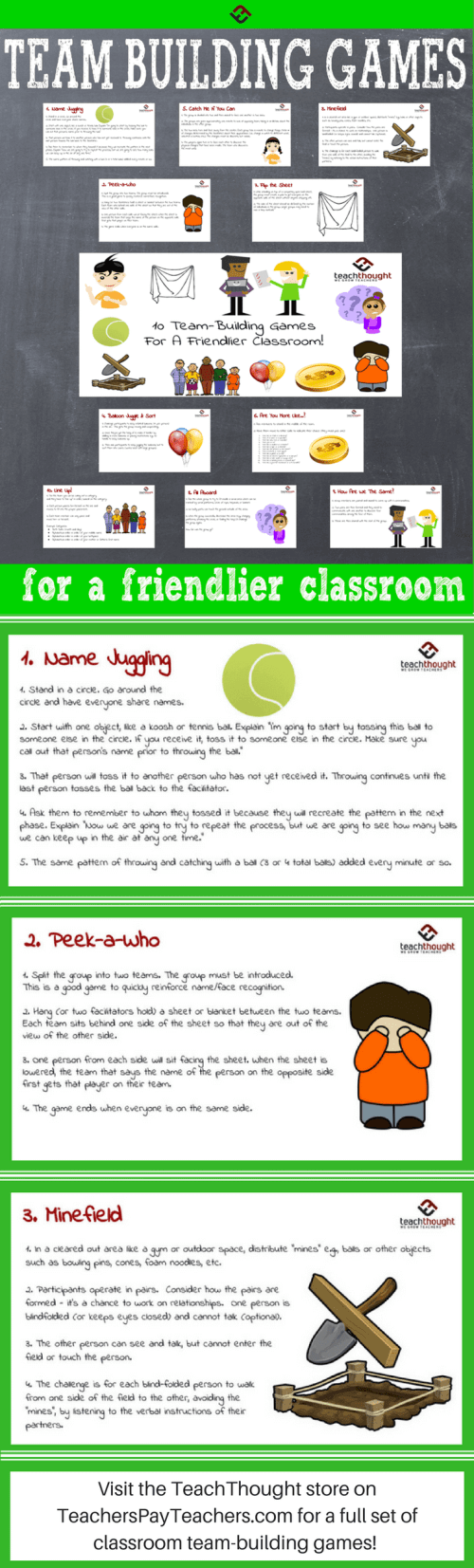 small resolution of Making Friends: 10 Team-Building Games For Students
