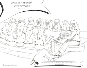 Object lesson for mary anointing jesus
