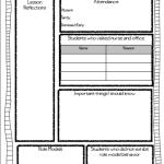 Simplifying Sub Plans… A FREEBIE