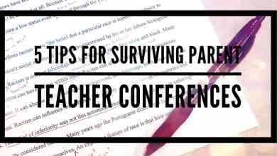 Photo of 5 Tips to Surviving Parent Teacher Conferences