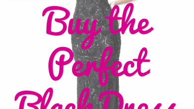 Photo of How To Buy The Perfect Black Dress