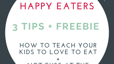 Photo of Raising a Healthy Happy Eater : 3 Habits to Incorporate in your Family Culture!